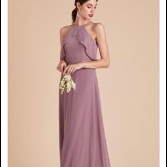 birdy grey Dresses & Skirts - Birdy -grey dark mauve bridesmaid dress